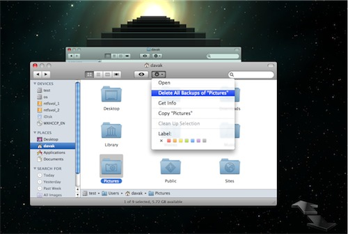 how to delete time machine local backups